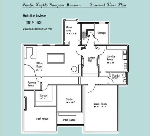 2505 divisadero basement floor plan
