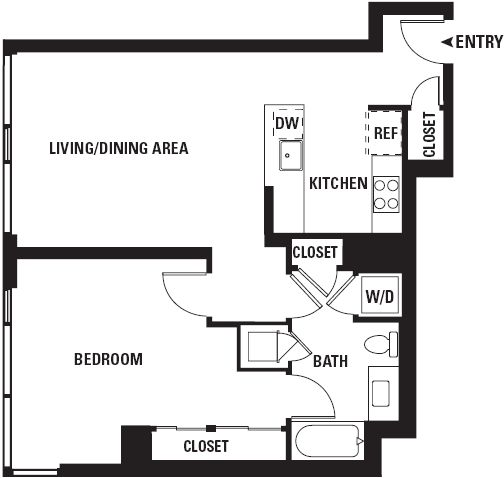 Watermark Floor Plan H (Image Source: sfwatermark.com)