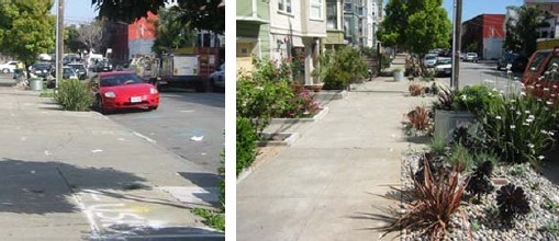 PlantSF: Shotwell Street Greenway (Before and After)