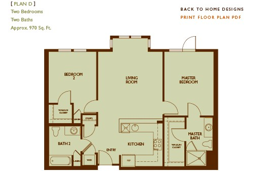 Broderick Place Floor Plan