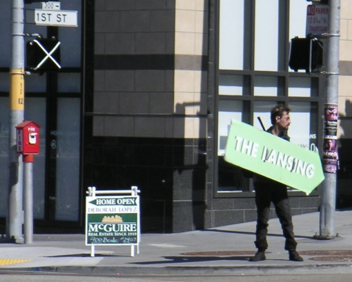 A Spinning Sign Of The Times (And The Lansing)