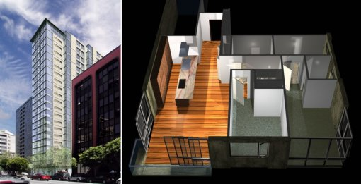 631 Folsom Exterior and Unit Rendering