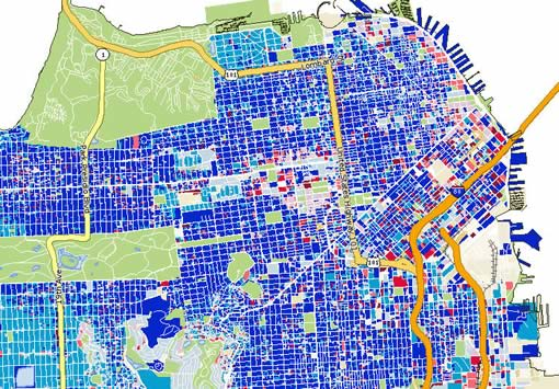 PropertyShark Update: More San Francisco Maps