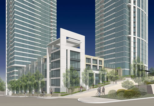 One Rincon Hill: Townhomes Rendering