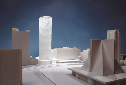 Proposed Cathedral Hill Tower: Position