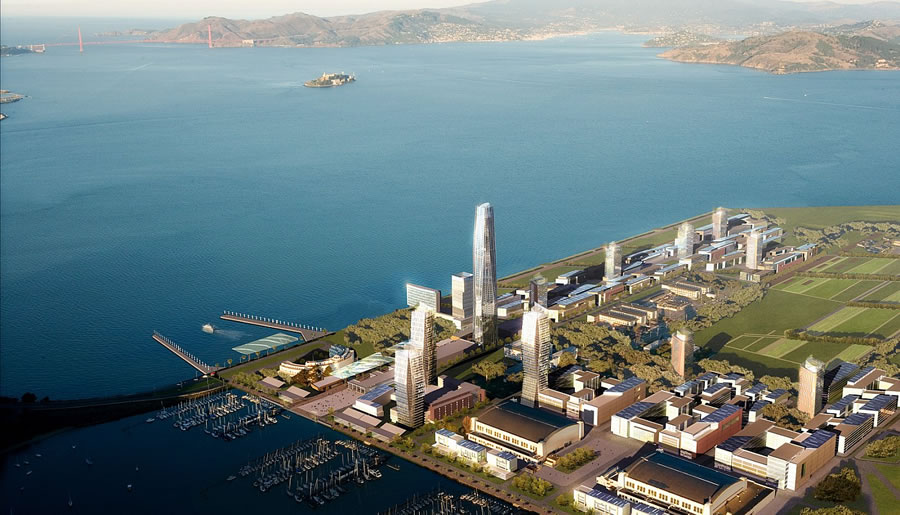 Treasure Island Redevelopment Rendering
