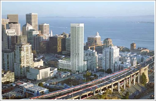 The Californian on Rincon Hill (375 Fremont): Rendering