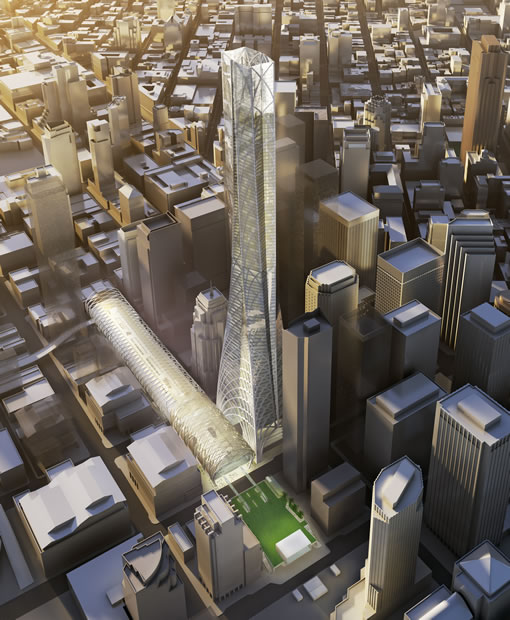 San Francisco's Transbay Terminal and Tower: Skidmore Owings and Merrill Preliminary Design