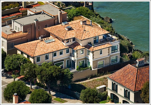 120 Sea Cliff Avenue: Aerial (Image Source: 120seacliff.com)