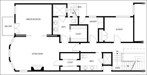 2 Bedroom 1 Bath House Plans further With Barn Home Pole Style House Plans On Small 1 5 Story House additionally Modern Mansion Floor Plans also Courtyard House Aileen Sage Architects further House Plans With Angled Garage. on 5 bedroom house floor plans