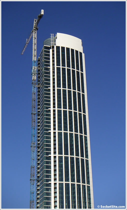 One Rincon Hill: Tower One on 10/21/07