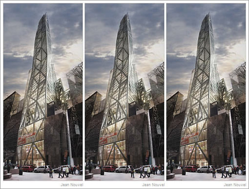 Socketsite in a new york minute and times three as for Jean nouvel design
