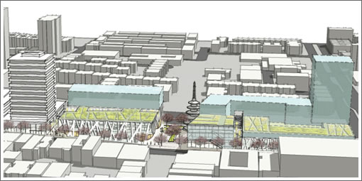 The 4 Design Concepts For The Future Of San Francisco's Japantown