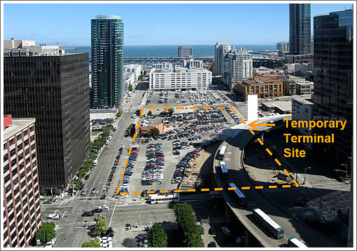 The Temporary Transbay Terminal Site, Design, And Meeting