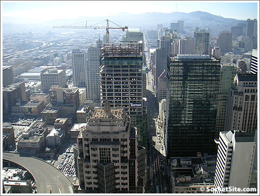 Millennium Tower: View from PH1A