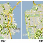 Foreclosure Activity In San Francisco As Mapped By Trulia: 2/07/08