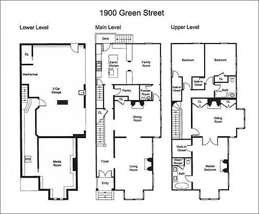 Socketsite victorian character updated floor plan and for 1900 victorian house plans