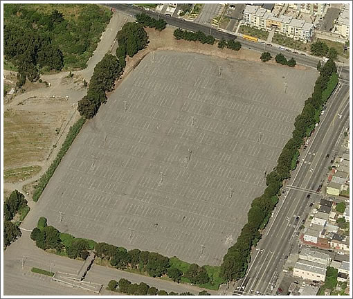 Cow Palace Overflow Parking Lot