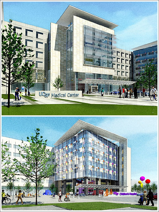 The Designs And Timing For UCSF's New Mission Bay Medical Center