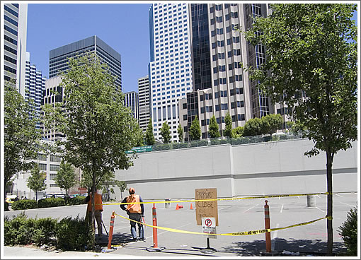 535 Mission: Site Cleared (Image Source: Downtown Dave at Skyscraperpage.com)