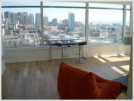 The View From The First Listed Resale At Soma Grand (1160 Mission)