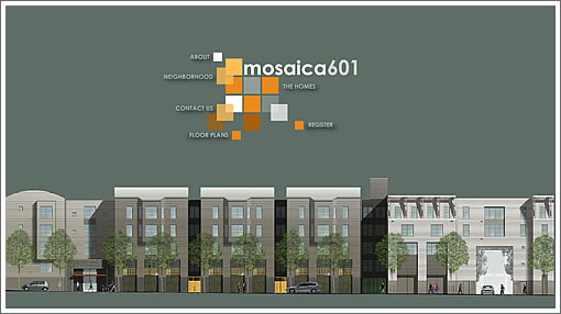 Mosaica 601: Website