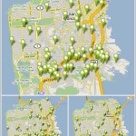 Foreclosure Activity In San Francisco As Mapped By Trulia: 7/07/08