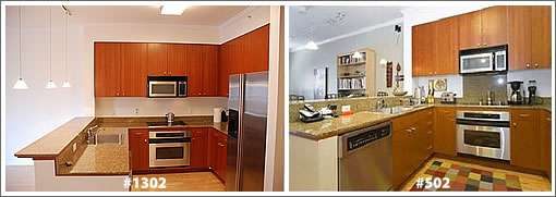 246 2nd Street Kitchens: #1302 and #502