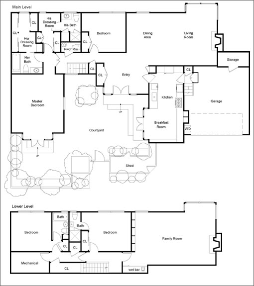 27 Raycliff Terrace: Floor Plan