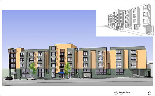 690 Stanyan Project: Revised Design