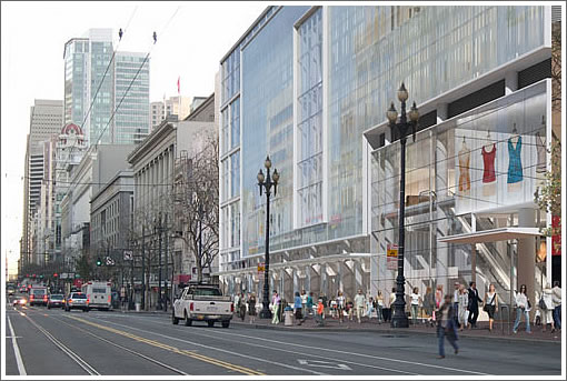 """The Designs For San Francisco's """"CityPlace"""" (935-965 Market Street)"""