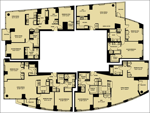 ORH 60th Floor: Floor Plans