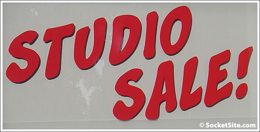Symphony Towers Sign: Studio Sale (www.SocketSite.com)