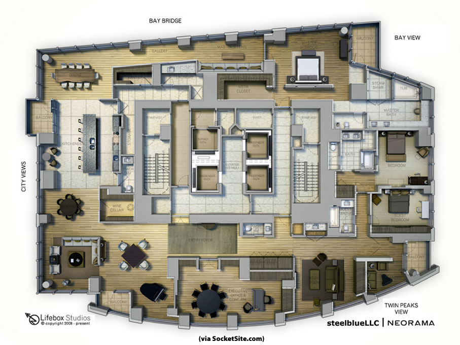 Socketsite socketsite s unofficial penthouse plan challenge life box at the top - Lay outs penthouse ...