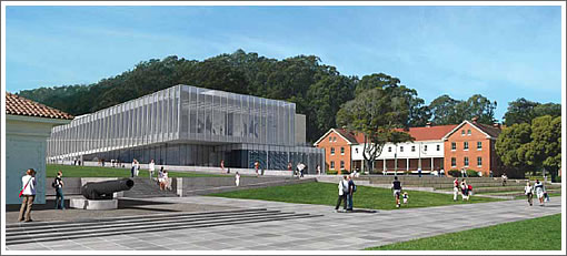 Proposed Contemporary Art Museum Presidio (CAMP)