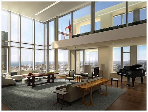 Inside The St. Regis Penthouse: The Rendering Scoop And Details