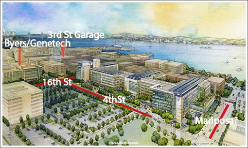 The Latest Rendering For UCSF's Medical Center at Mission Bay