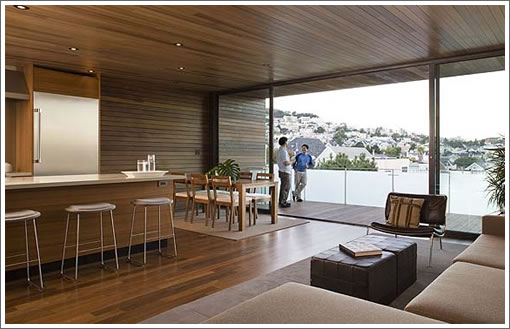 4356 25th Street: Kitchen/Dining/Deck (Image Source: terryandterryarchitecture.com)