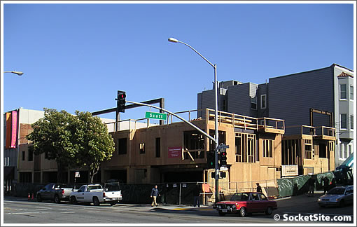 2350 Lombard Rising: Twelve New Townhouses Over Commercial