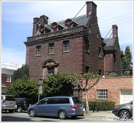 Bourn To Run Party: A San Francisco Mansion Of Ex-Glory And Dreams