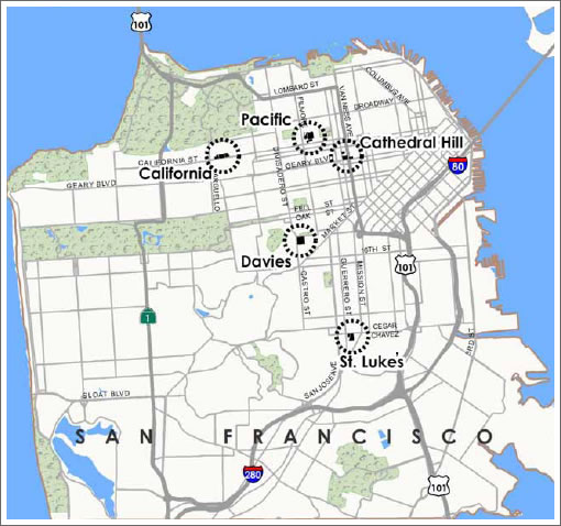 CPMC San Francisco Campuses