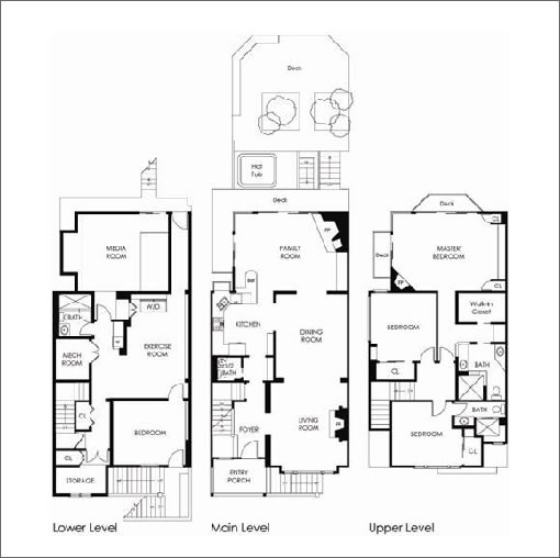 House floor plans with home theater house design plans for Plan home cinema