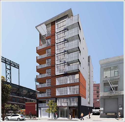 750 2nd Street: As Proposed