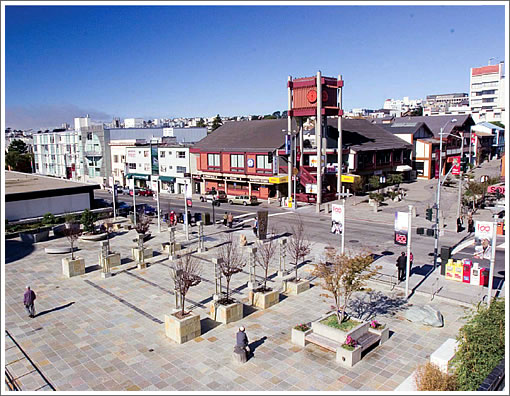 Japantown's Peace Plaza