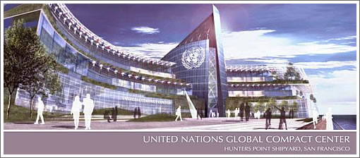 Proposed United Nations Global Compact Center