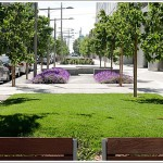 Rincon Hill Streetscape Plan In Action On Spear: New Mini-Park