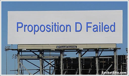 Proposition D Failed Billboard