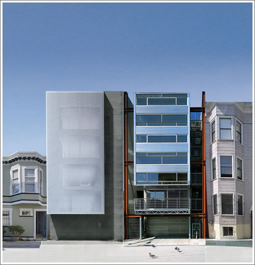 Modern Urban Infill: 1029 Natoma: The Plans To Complement A