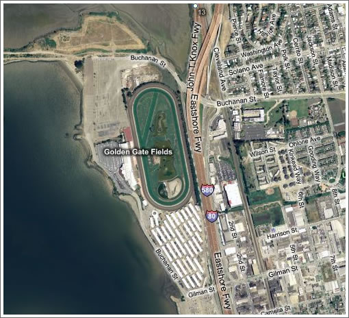 Golden Gate Fields Aerial