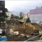 It's Back To <strike>Building</strike> Digging At 1844 Market (Not So Much At 2200)